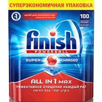 Таблетки для посудомоечных машин Finish Powerball All in 1 Max, 100 шт.