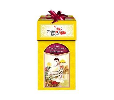 Чай Plum snow Улун с хризантемой и барбарисом