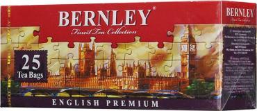 Чай черный Bernley English Premium 25 пакетов