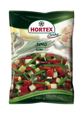 Полуфабрикат Hortex Лечо Овощная смесь быстрозамороженная