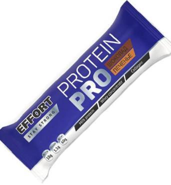 Батончик Effort Protein шоколад-печенье