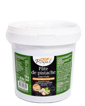 Паста фисташковая DGF 63,6% с сахаром Royal, FR