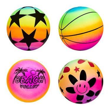 """Мяч """"Яркий день"""", ПВХ, 25см, 4 цвета"""