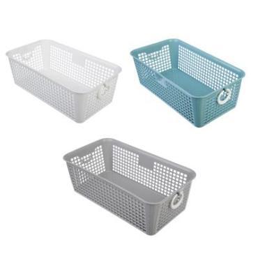 Блок для хранения мелочей Корзина 26*14*9 см.,пластик Асторг