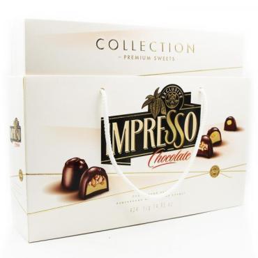 Конфеты шоколадные Impresso Набор подарочный белый