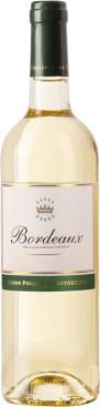 Вино Бордо ля Барони Блан / Bordeaux La Baronnie Blanc,  Совиньон Блан, Мюскадель, Семийон,  Белое Сухое, Франция