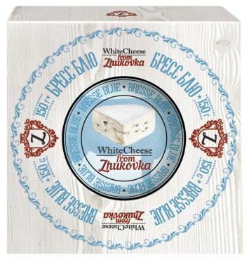 Сыр Бресс Блю WhiteCheese from Zhukovka 50%