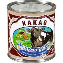 Сгущенное молоко Алексеевское с сахаром и какао 5%
