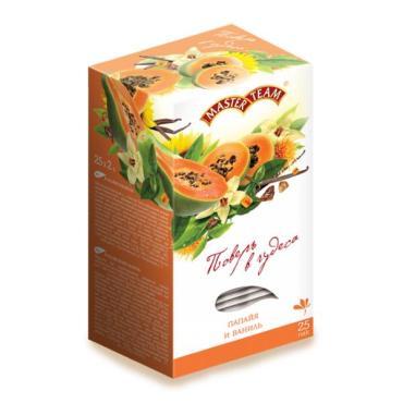 Чай черный Master team Папайя-ваниль