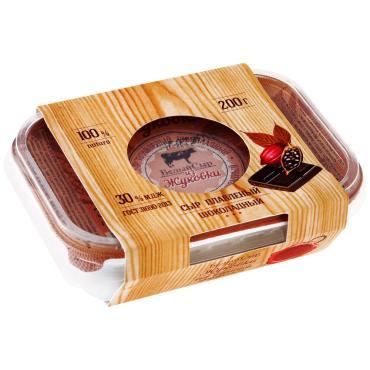 Сыр White Cheese from Zhukovka Шоколадный плавленый пастообразный 30%