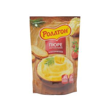 Пюре Роллтон картофельное с нежным сливочным вкусом, 240 гр, дой-пак
