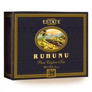 Чай черный Ruhunu Club Standard Цейлон 100 пак.