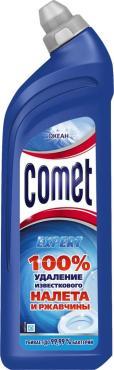 Средство чистящее Comet для туалета, океан