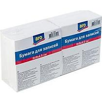 Бумага для записей Aro блок белый 9 х 9 х 45 см 2 штуки