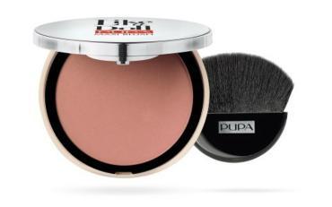 Румяна для лица Pupa Like A Doll Maxi Blush компактные оттенок №103 цвет коричневый розовый