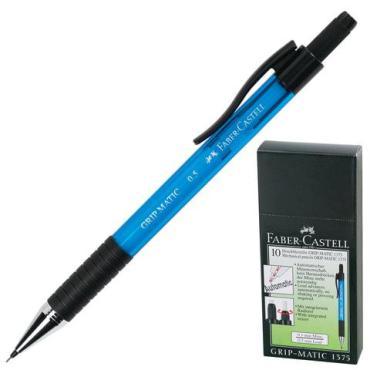 Карандаш механический Faber-Castell Grip Matic 1375 корпус голубой ластик 0,5 мм