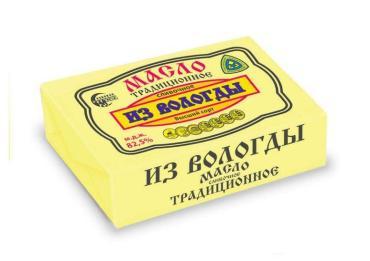 Масло Волгуша 82,5% Традиционное ВОЛГУША