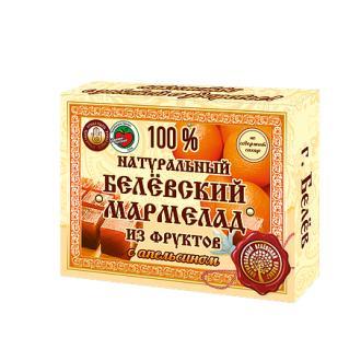 Мармелад Белёвский продукт натуральный с апельсином