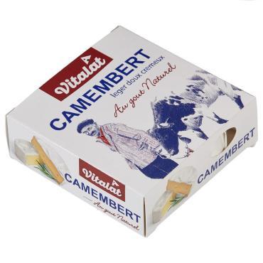Сыр Vitalat Камамбер мягкий с белой плесенью 45%