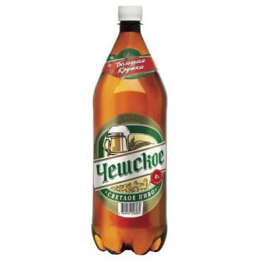 Пиво Большая Кружка Чешское светлое пастеризованное