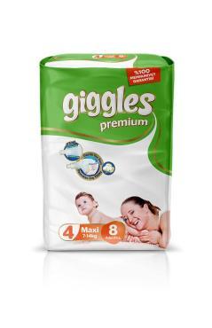Подгузники Giggles Maxi 4 7-14 кг. 8шт.