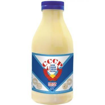 Молоко сгущенное с сахаром ГОСТ 8,5%, Промконсервы, 1020 гр., Пластиковая бутылка
