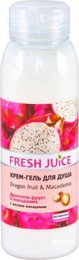 Крем-гель для душа Fresh Juice Dragon fruit&Macadamia