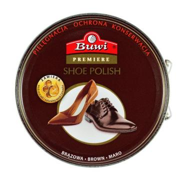 Крем для обуви Buwi Premiere коричневый