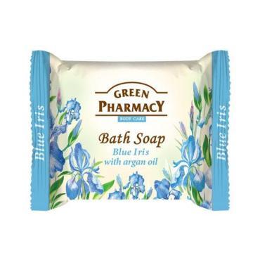 Туалетное мыло Green Pharmacy Голубой Ирис с аргановым маслом