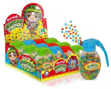 Драже Grenade Candy, 60 гр., пластиковая упаковка