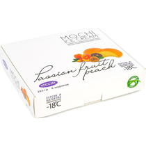 Мороженое Mochi Сливочное персик-маракуйя в рисовой глазури