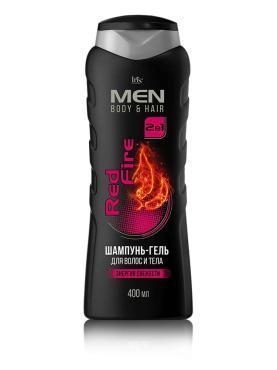 Шампунь-гель для волос и тела Iris Men Body&Hair Red Fire