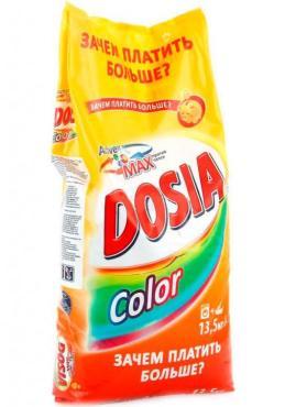 Стиральный порошок Dosia Optima Color, 13,5 кг., пластиковый пакет