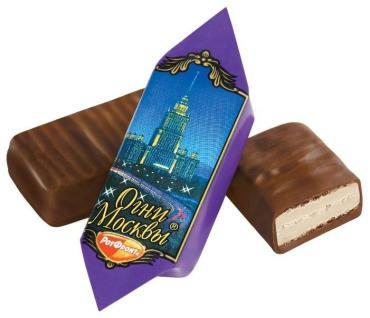 Конфеты Огни Москвы, Рот Фронт, 5 кг., картонная коробка