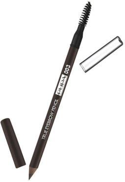 Карандаш для бровей Pupa True Eyebrow Pensil № 003, оттенок Темно-коричневый