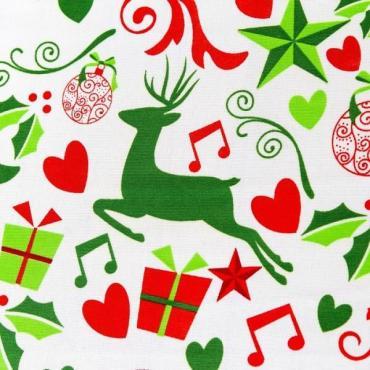 Скатерть Доляна Рождественские подарки 145×260 см.