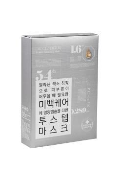 Маска для лица отбеливающая Dr.Gloderm TabRX Whitening Mask, 125 мл., Картонная коробка