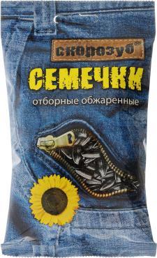 Семечки Скорозуб семена подсолнечника обжаренные