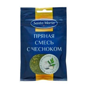 Пряная смесь с чесноком Santa Maria 35 гр., пластиковый пакет