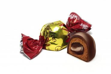 Конфеты Sweet Life Imperio вкус шоколадный крем глазированные