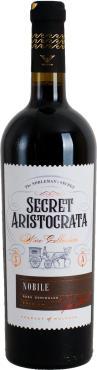Вино столовое красное полусладкое 12% Invinprom Secret Aristocrata Nobile, Молдавия, 750 мл., стекло