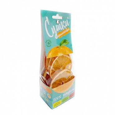 Чипсы фруктовые Сушки Апельсин, 30 гр., картонная коробка