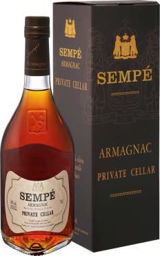 Арманьяк 40% Sempe Private Cellar Armagnac , 700 мл., подарочная упаковка