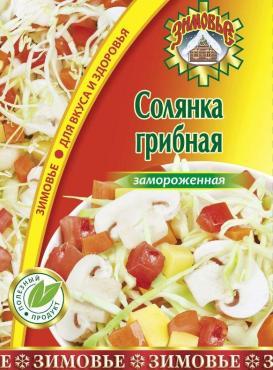 Солянка грибная, Зимовье, 400 гр., пакет