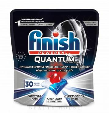 Таблетки для посудомоечных машин Finish Quantum Ultimate, 424 гр., дой-пак