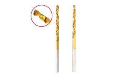 Сверло 202-106DR MT 3,2*65,36 2pcs металл., DIN338, HSS-G, TIN, Hammer, 10 гр., блистер