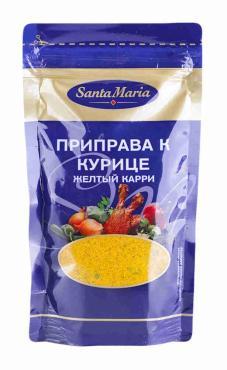 Приправа к курице желтый карри Santa Maria 24 гр., дой - пак