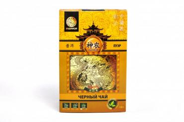 Чай Shennun Пуэр черный крупнолистовой