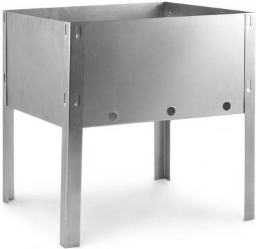Мангал походный эконом 30х24х30 см., Grifon, 700 гр., полиэтиленовая пленка
