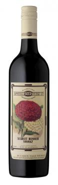 Вино красное сухое Spring Seed Wine Scarlet Runner Shiraz, 750 мл., стекло